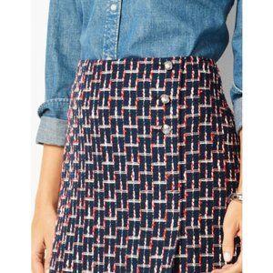 TALBOTS Boucle Wrap Skirt